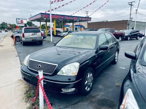 2003 Lexus LS 430 for sale at Car Credit Stop 12 in Calumet City IL