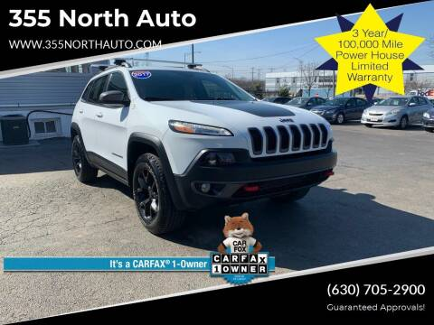 2017 Jeep Cherokee for sale at 355 North Auto in Lombard IL