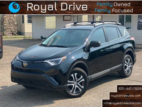 2017 Toyota RAV4 for sale at Royal Drive in Newport MN