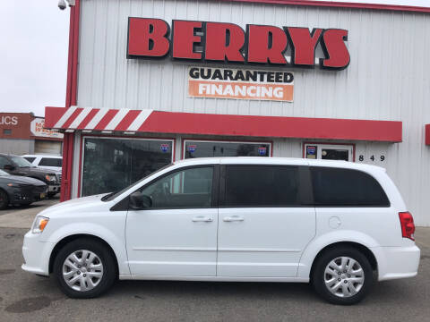 2016 Dodge Grand Caravan for sale at Berry's Cherries Auto in Billings MT
