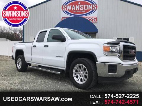 2015 GMC Sierra 1500 for sale at Swanson's Cars and Trucks in Warsaw IN