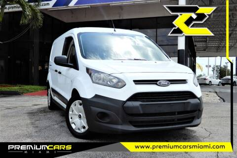 2015 Ford Transit Connect Cargo for sale at Premium Cars of Miami in Miami FL