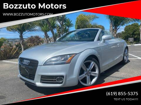 2011 Audi TT for sale at Bozzuto Motors in San Diego CA