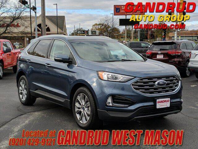2019 Ford Edge for sale at GANDRUD CHEVROLET in Green Bay WI