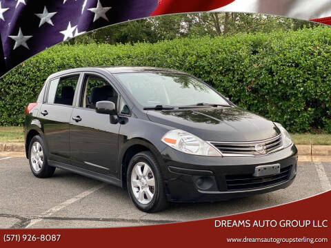 2012 Nissan Versa for sale at Dreams Auto Group LLC in Sterling VA