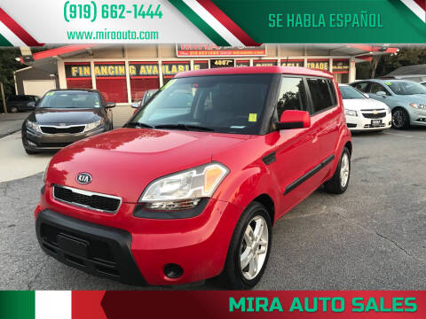 2010 Kia Soul for sale at Mira Auto Sales in Raleigh NC