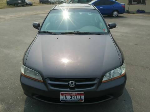 1998 Honda Accord for sale at Marvelous Motors in Garden City ID