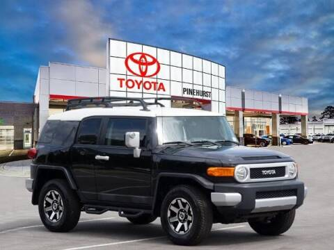 2013 Toyota FJ Cruiser for sale at PHIL SMITH AUTOMOTIVE GROUP - Pinehurst Toyota Hyundai in Southern Pines NC