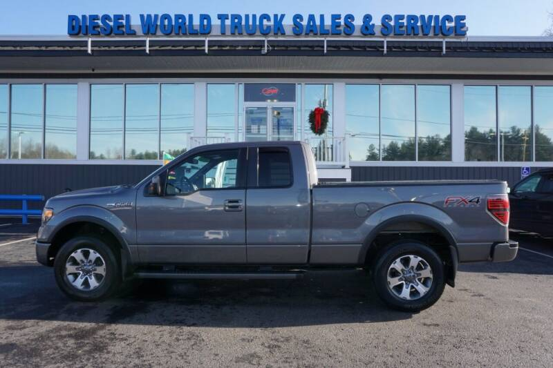 2013 Ford F-150 for sale at Diesel World Truck Sales in Plaistow NH
