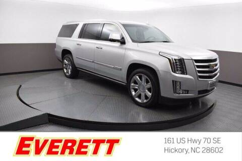 2016 Cadillac Escalade ESV for sale at Everett Chevrolet Buick GMC in Hickory NC