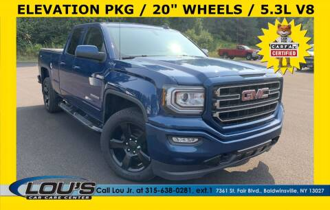 2017 GMC Sierra 1500 for sale at LOU'S CAR CARE CENTER in Baldwinsville NY