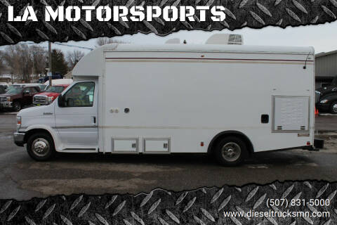 2011 Ford E-Series Chassis for sale at LA MOTORSPORTS in Windom MN