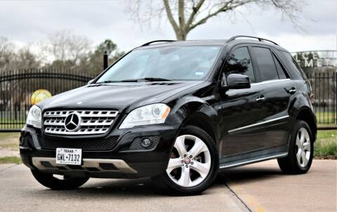 2011 Mercedes-Benz M-Class for sale at Texas Auto Corporation in Houston TX