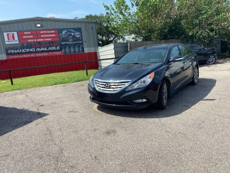 2013 Hyundai Sonata for sale at Space City Auto Center in Houston TX