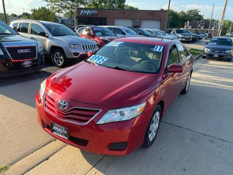 2011 Toyota Camry for sale at AM AUTO SALES LLC in Milwaukee WI