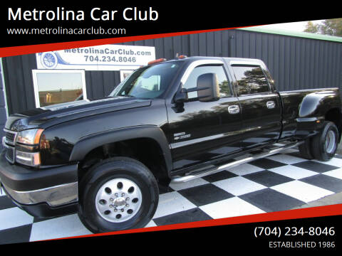 2007 Chevrolet Silverado 3500 Classic for sale at Metrolina Car Club in Matthews NC