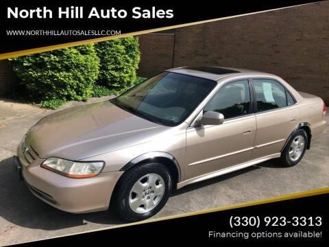 2001 Honda Accord for sale at North Hill Auto Sales in Akron OH