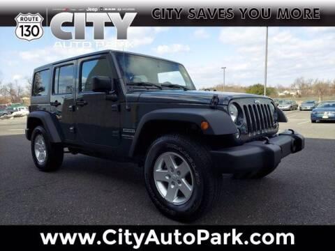 2018 Jeep Wrangler JK Unlimited for sale at City Auto Park in Burlington NJ