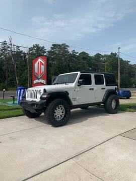 2020 Jeep Wrangler Unlimited for sale at JC Motorsports in Egg Harbor City NJ