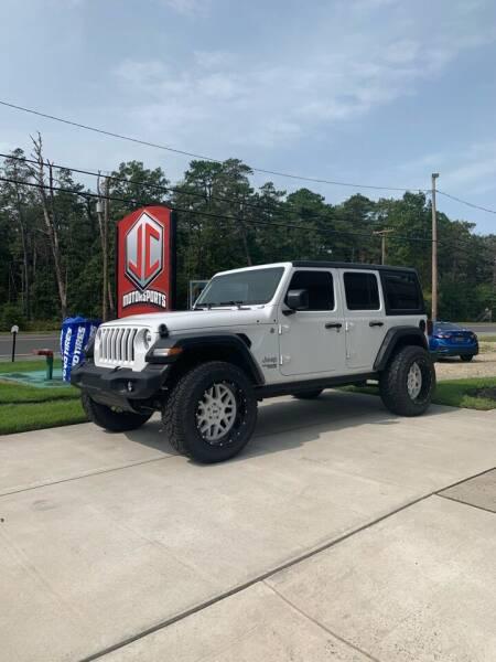2020 Jeep Wrangler Unlimited for sale at JC Motorsports in Egg Harbor City NJ