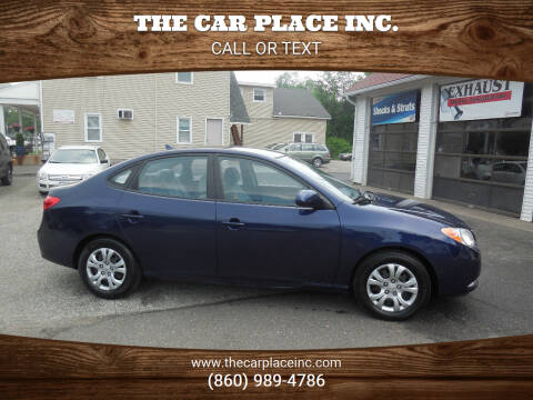 2010 Hyundai Elantra for sale at THE CAR PLACE INC. in Somersville CT