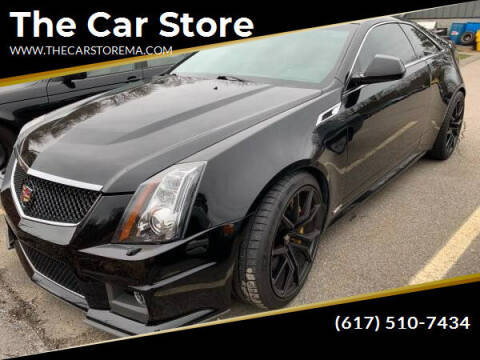 2012 Cadillac CTS-V for sale at The Car Store in Milford MA