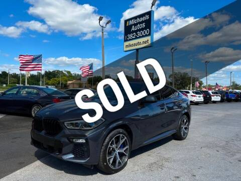 2020 BMW X6 for sale at Michaels Autos in Orlando FL