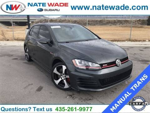 2016 Volkswagen Golf GTI for sale at NATE WADE SUBARU in Salt Lake City UT