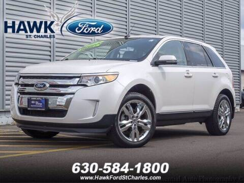 2014 Ford Edge for sale at Hawk Ford of St. Charles in St Charles IL
