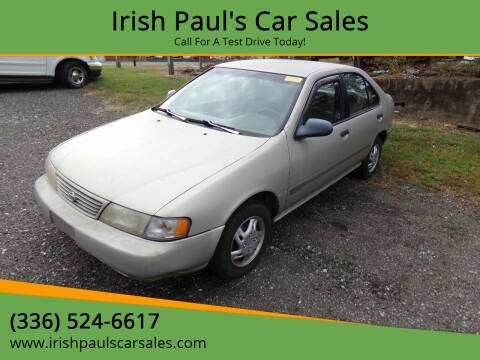 1997 Nissan Sentra for sale at Irish Paul's Car Sales in Burlington NC