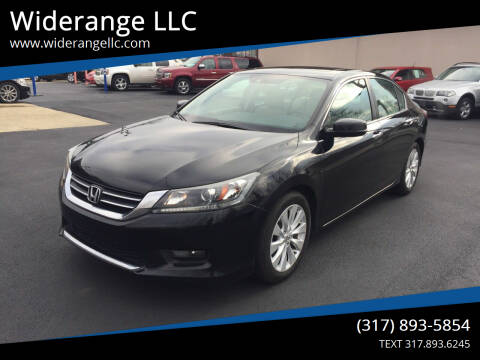 2015 Honda Accord for sale at Widerange LLC in Greenwood IN