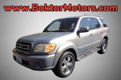 2001 Toyota Sequoia for sale at Boktor Motors in North Hollywood CA
