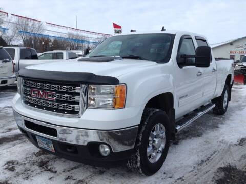 2013 GMC Sierra 2500HD for sale at Steves Auto Sales in Cambridge MN