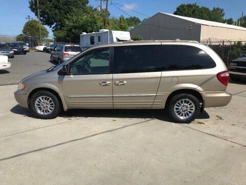 2003 Chrysler Town and Country for sale at Mike's Auto Sales of Charlotte in Charlotte NC