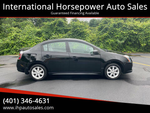 2012 Nissan Sentra for sale at International Horsepower Auto Sales in Warwick RI