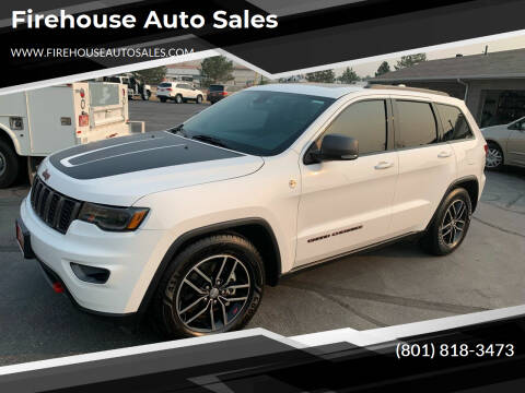 2018 Jeep Grand Cherokee for sale at Firehouse Auto Sales in Springville UT