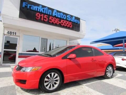 2009 Honda Civic for sale at Franklin Auto Sales in El Paso TX