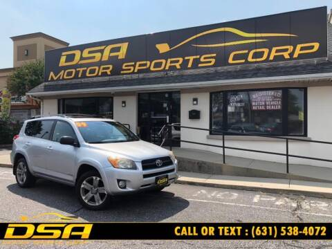 2009 Toyota RAV4 for sale at DSA Motor Sports Corp in Commack NY
