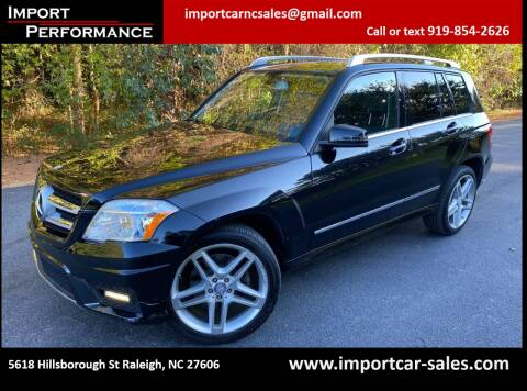 2012 Mercedes-Benz GLK for sale at Import Performance Sales in Raleigh NC