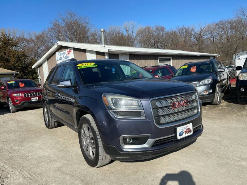 2014 GMC Acadia for sale at Victor's Auto Sales Inc. in Indianola IA