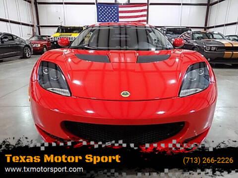 2012 Lotus Evora for sale at Texas Motor Sport in Houston TX