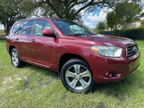 2008 Toyota Highlander for sale at Kaler Auto Sales in Wilton Manors FL