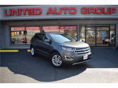2017 Ford Edge for sale at United Auto Group in Putnam CT