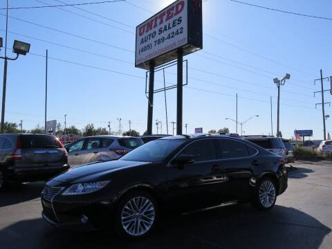 2013 Lexus ES 350 for sale at United Auto Sales in Oklahoma City OK