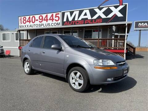 2006 Chevrolet Aveo for sale at Maxx Autos Plus in Puyallup WA