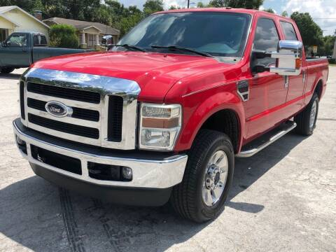 2009 Ford F-250 Super Duty for sale at LUXURY AUTO MALL in Tampa FL