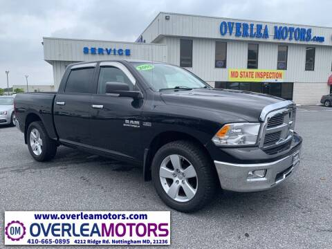 2009 Dodge Ram Pickup 1500 for sale at Overlea Motors in Baltimore MD