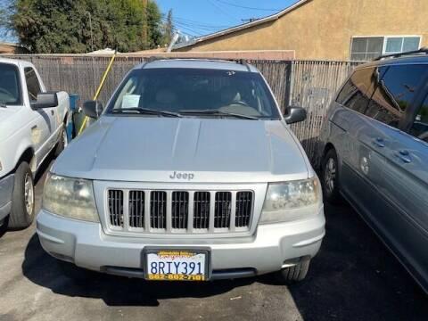 2004 Jeep Grand Cherokee for sale at Affordable Auto Inc. in Pico Rivera CA