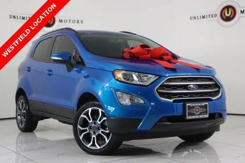 2018 Ford EcoSport for sale at INDY'S UNLIMITED MOTORS - UNLIMITED MOTORS in Westfield IN