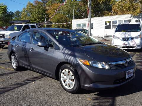 2012 Honda Civic for sale at Car Complex in Linden NJ